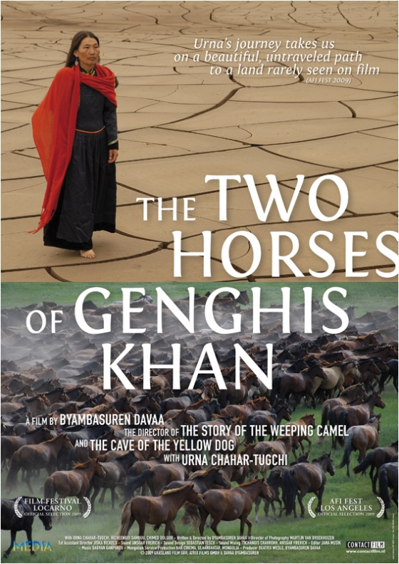 affiche Two Horses of Genghis Khan (ContactFilm)