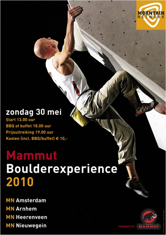 affiche Boulderexperience (Mountain Network)